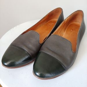Madewell The Cap Toe Teddy Loafer Shoe Size 7.5